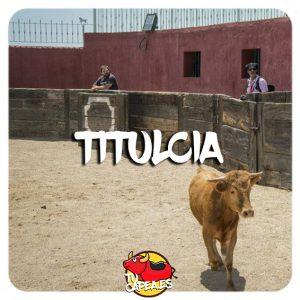 Capeas en Titulcia